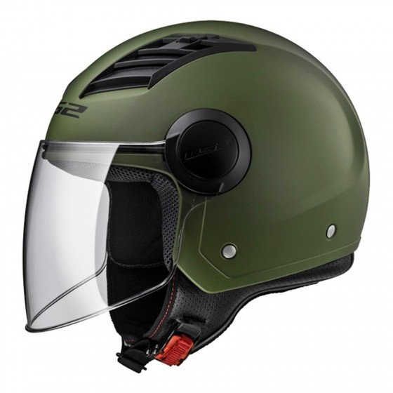 Casco LS2 OF562 Airflow verde militar