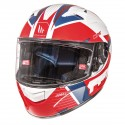 Casco MT KRE SV Rad blanco/rojo/azul