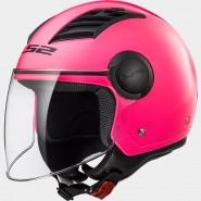 Casco LS2 OF562 Airflow rosa fluor