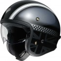 Casco Shoei  J.O Hawker gris