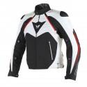 Chaqueta Dainese Hawker D-Dry negro/blanco/rojo