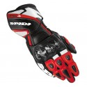 Guante Spidi Carbo3 Leather Rojo piel