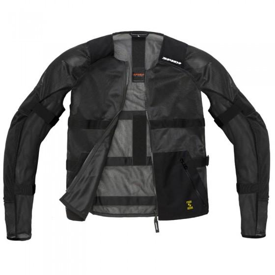 Chaqueta Spidi Airtech Armor Negro textil