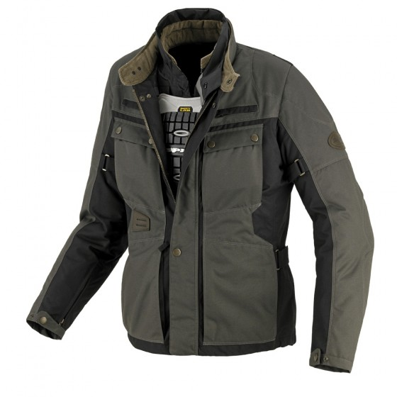 Chaqueta Spidi Worker Tex h2out Verde textil
