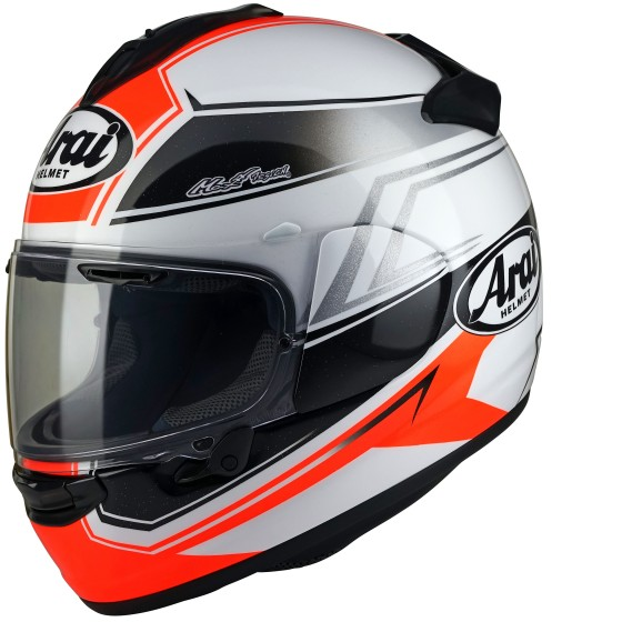 Casco ARAI Chaser-X Shaped red
