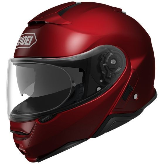 Casco Shoei Neotec II Wine red