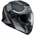 Casco Shoei Neotec II Excursion Tc5 gris/rojo