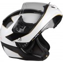 Casco Lazer Monaco EVO Window Pure Carbon blanco,carbono
