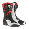Botas Alpinestars Smx 6 V2 negro/rojo fluor/blanco