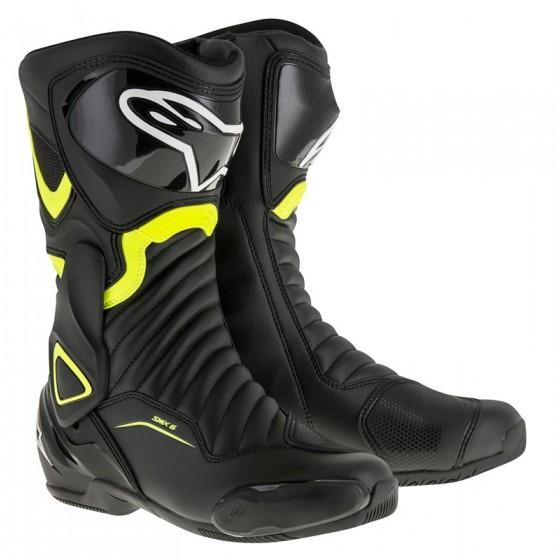 Botas Alpinestars Smx 6 V2 negro/amarillo fluor