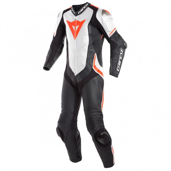 Mono Dainese Laguna Seca 4 1pc black/white/fluo red multicolor