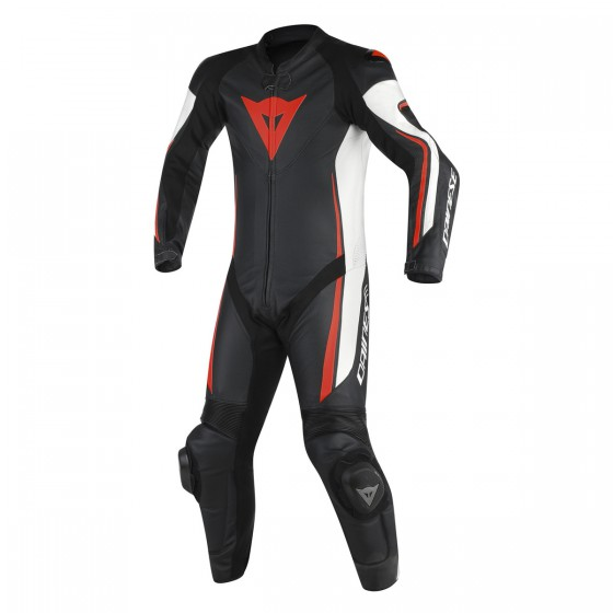 Mono Dainese Assen 1 pc perf black/white/red fluo Multicolor