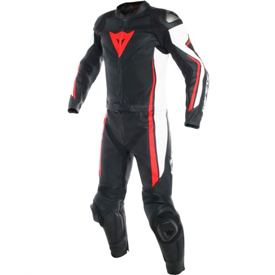 Mono Dainese Assen 2pcs black/white/flou red Multicolor