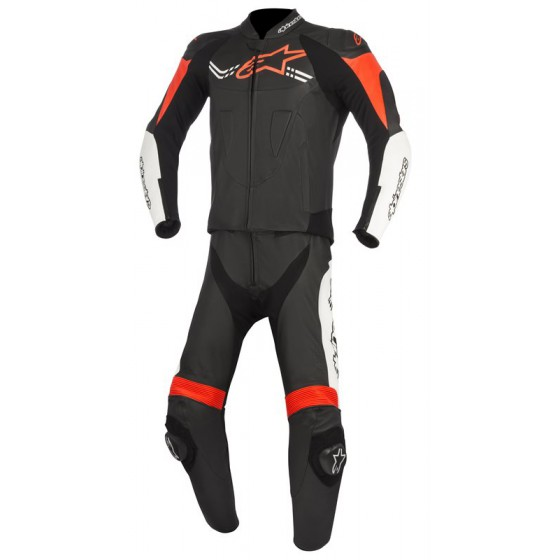 Mono Alpinestars Challenger V2 2pcs black/white/red fluo rojo, multicolor