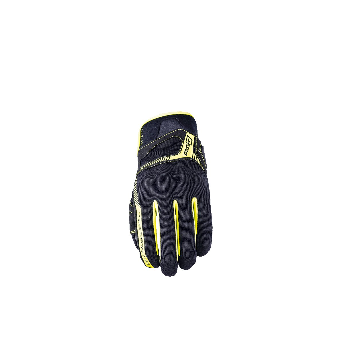 Guantes Five RS3 negro amarillo fluor. Loading zoom 185b6390779