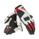 Guante Dainese Mig 2 Unisex Black/ white/ lava red