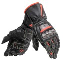 Guante Dainese Full Metal 6 black/ fluo red