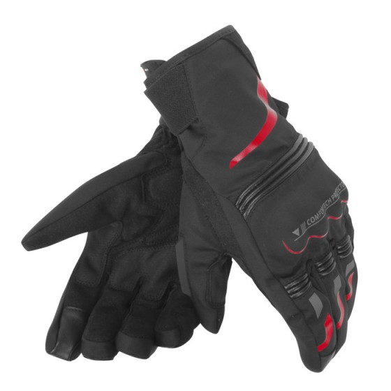 Guante Dainese Tempest D-Dry short black/red