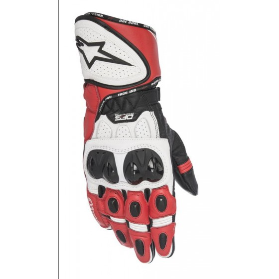 Guante Alpinestars GP Plus R black/white/red