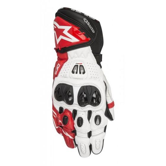 Guante Alpinestars GP Pro R2 black/ white/ red