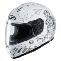 Casco Jr. HJC CL-Y Wazo mc10