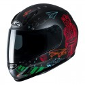 Casco Jr. HJC CL-Y Wazo mc1sf