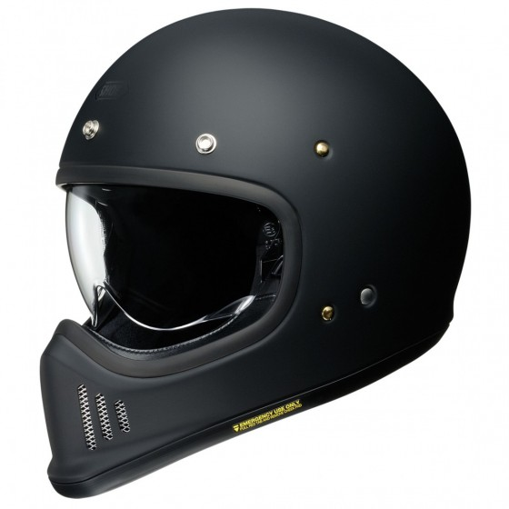 Casco SHOEI EX_ZERO Matt black