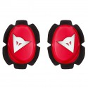 Deslizaderas DAINESE PISTA KNEE SLIDER red/white