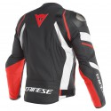 Chaqueta DAINESE AVRO 4 Black/ white/ fluo red
