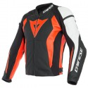 Chaqueta DAINESE Nexus black/ fluo red/white