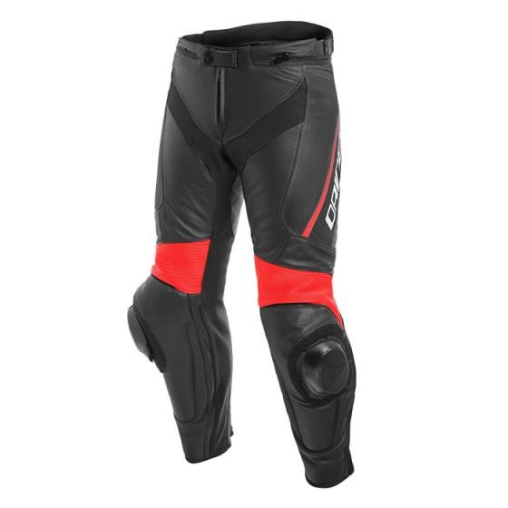 Pantalon DAINESE Delta 3 black/ black/ fluo red