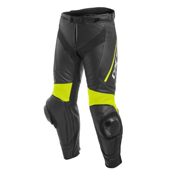 Pantalon DAINESE Delta 3 black/ black/ yellow fluo