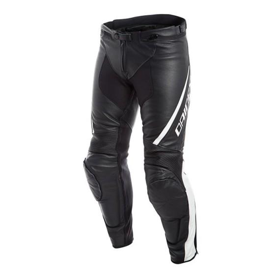 Pantalon DAINESE Assen leather black/ white