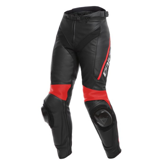 Pantalon DAINESE Delta 3 LADY black/ black/ fluo red