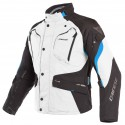 Chaqueta Dainese Dolomiti Gore-Tex Light grey / black/ electron blue