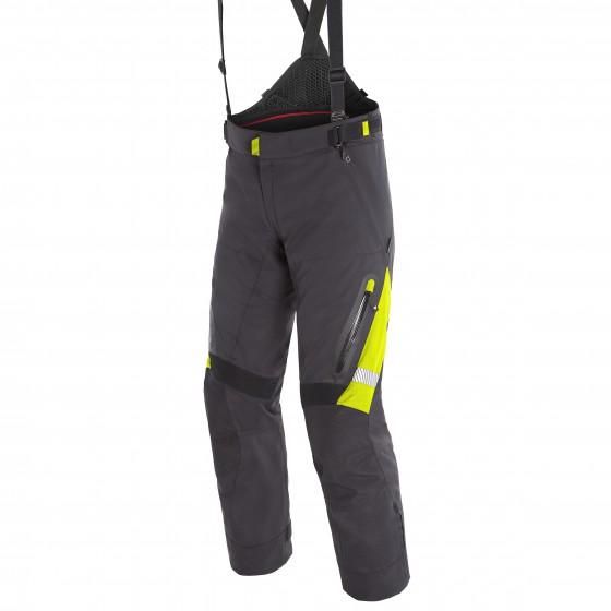 Pantalones DAINESE Gran turismo Gore-Tex black/ fluo yellow