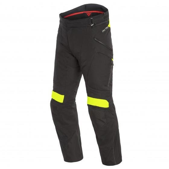Pantalones DAINESE Dolomiti Gore-Tex black/ fluo yellow
