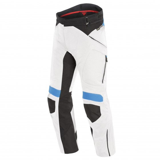 Pantalones DAINESE Dolomiti Gore-Tex light gray/ black/ electron blue