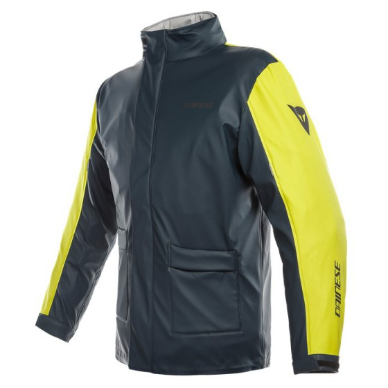 Chaqueta DAINESE Storm Jacket antrax/ fluo yellow