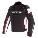Chaqueta DAINESE Racing 3 D-Dry Black/white/fluo red