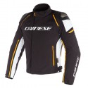 Chaqueta DAINESE Racing 3 D-Dry Black/ vapor blue /red-orange