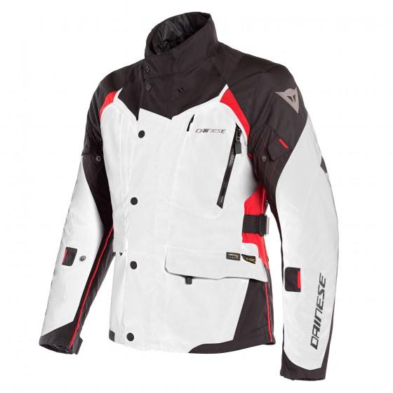 Chaqueta DAINESE X-Tourer D-Dry light gray/ black / tour red