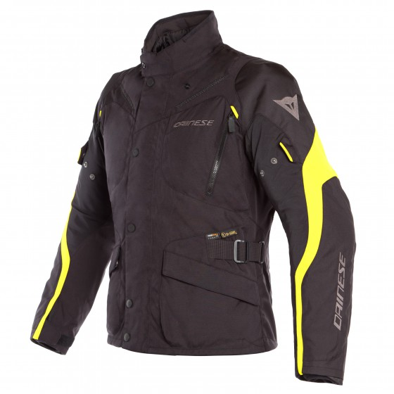 Chaqueta DAINESE Tempest 2 D-Dry black/fluo yellow