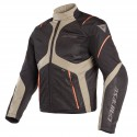 Chaqueta DAINESE Sauris D-Dry black/ falen rock/ vermillion orange