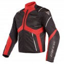 Chaqueta DAINESE Sauris D-Dry black/ tour red/ light gray