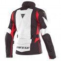Chaqueta DAINESE X-Tourer D-Dry Lady lifgt gray/ black / tour red