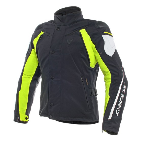 Chaqueta DAINESE Rain master D-Dry Lady black/ glacier gray / fluo yellow