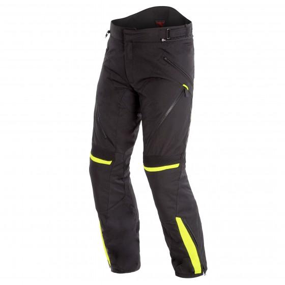 Pantalon DAINESE Tempest 2 D-dry black/ yellow fluo
