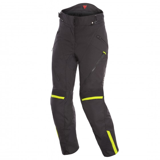 Pantalon DAINESE Tempest 2 D-dry Lady black/ yellow fluo