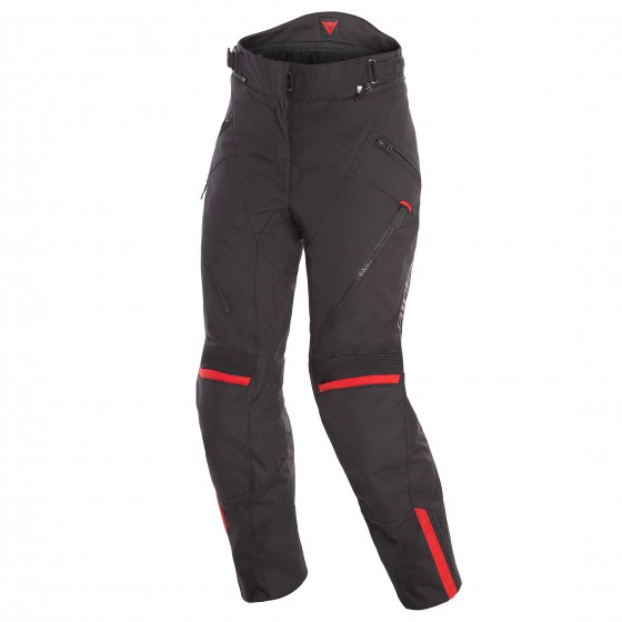 Pantalon DAINESE Tempest 2 D-dry Lady black/ tour red